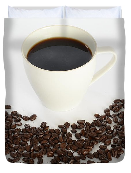 Coffee Duvet Cover by Photo Researchers, Inc.