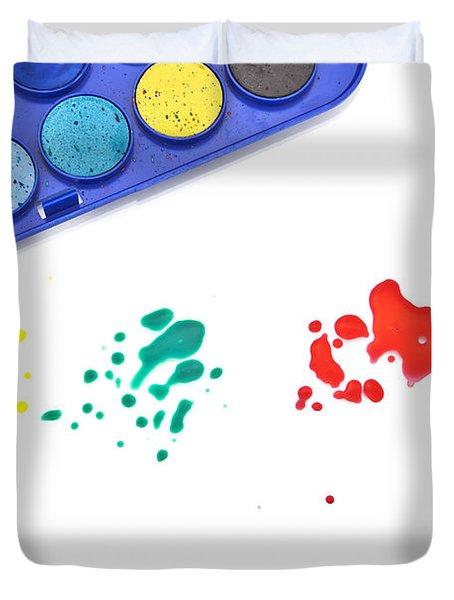 Color Splash Duvet Cover by Joana Kruse