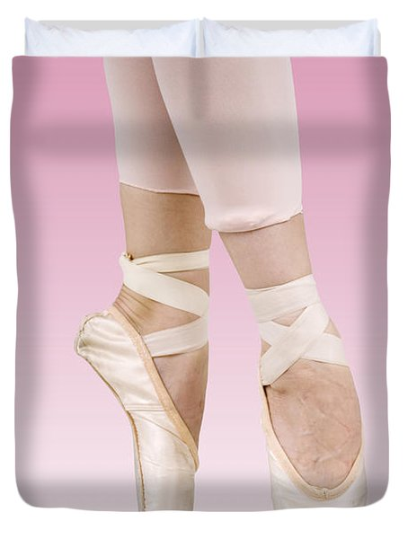 Female Dancer Duvet Cover by Ilan Rosen