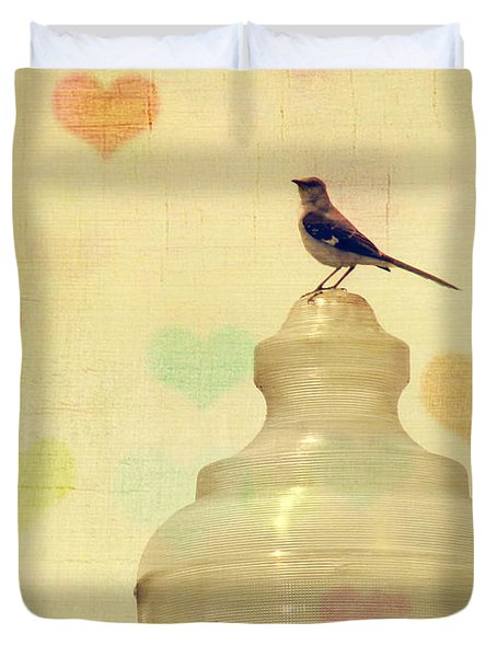 Heartsong Duvet Cover by Amy Tyler