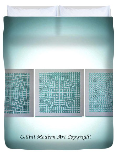 3 Illusions Duvet Cover