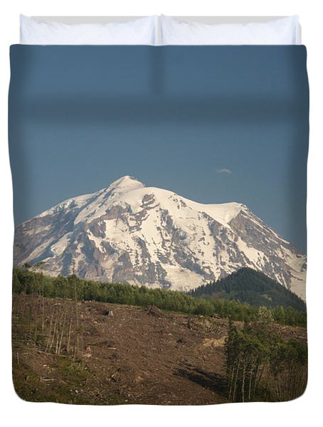 Mt Rainier Duvet Cover