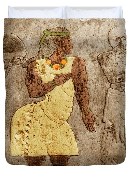 Muscular Dystrophy, Ancient Egypt Duvet Cover by Science Source