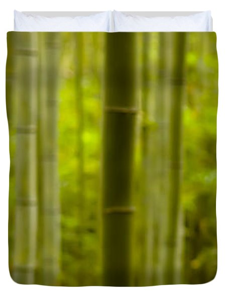 Mystical Bamboo Duvet Cover by Sebastian Musial