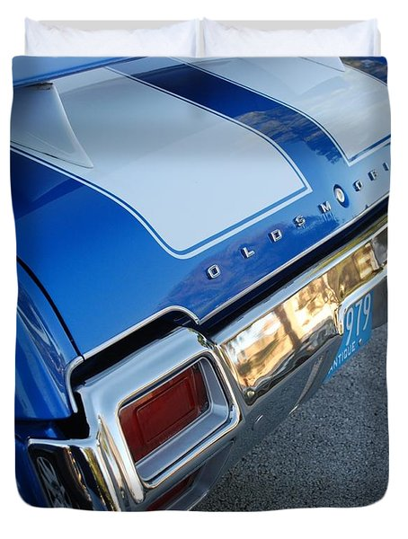 Olds C S  Duvet Cover by Rob Hans