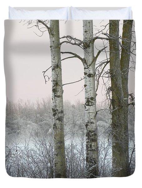 3 Standing Tall Duvet Cover