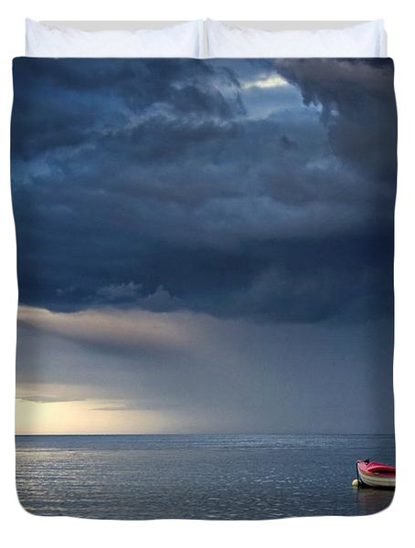 Sunderland, Tyne And Wear, England Duvet Cover by John Short