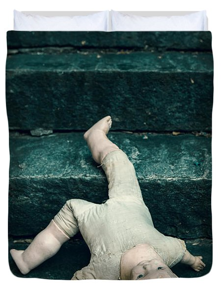 The Doll Duvet Cover by Joana Kruse