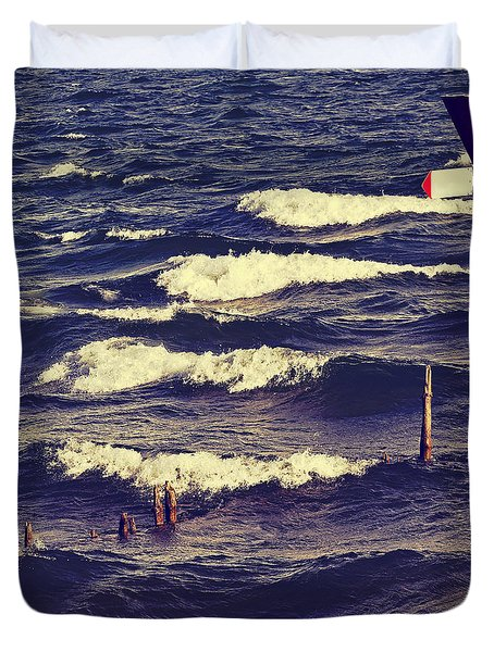 Waves Duvet Cover by Joana Kruse