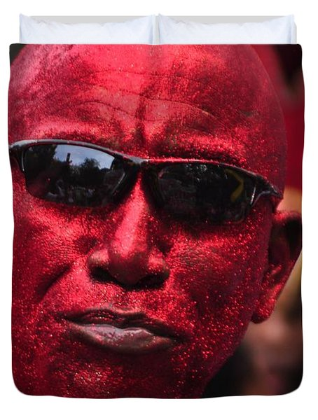 West Indian Day Parade Brooklyn Ny Duvet Cover