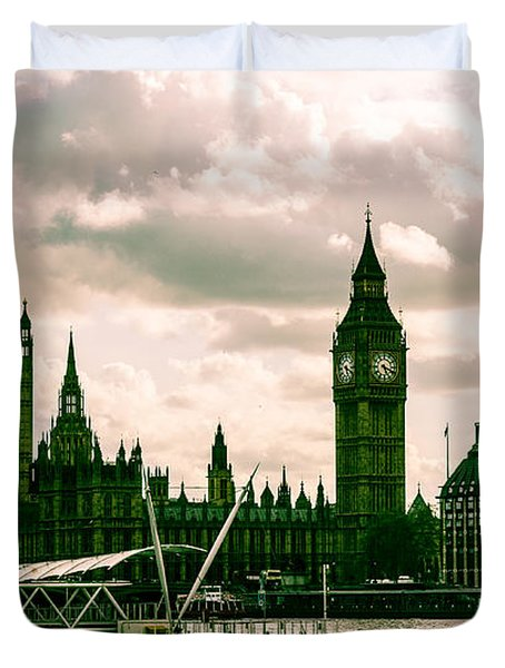 Westminster Duvet Cover by Dawn OConnor