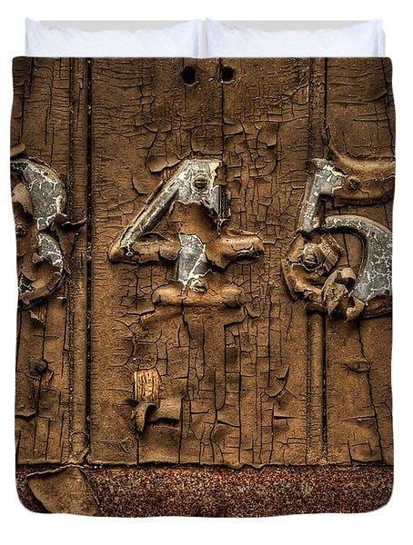 345 Duvet Cover by Evelina Kremsdorf