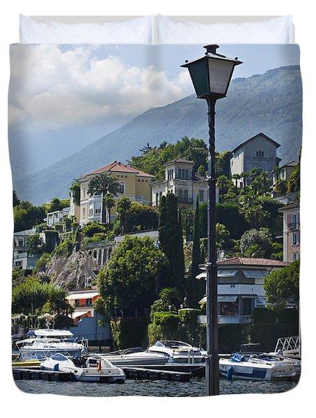 Ascona - Ticino Duvet Cover by Joana Kruse