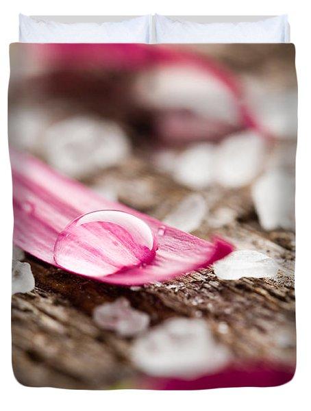 Bath Salt Duvet Cover by Kati Molin
