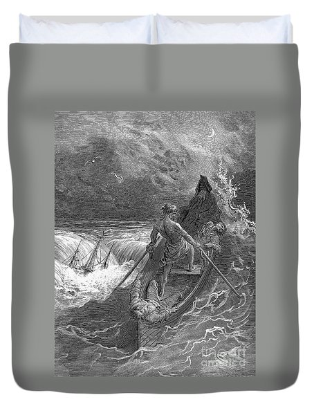 Ancient Mariner Duvet Cover