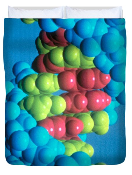 Dna Duvet Cover by Science Source