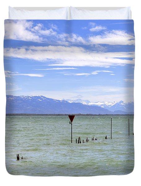 Lake Constance Duvet Cover by Joana Kruse