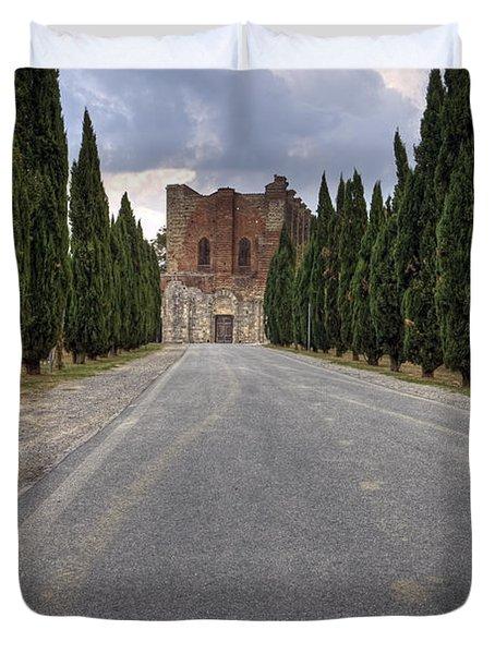 San Galgano Duvet Cover by Joana Kruse