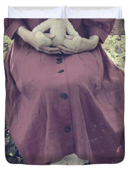 Teddy Bear Duvet Cover by Joana Kruse