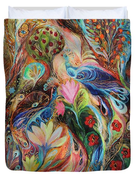 The Magic Garden Duvet Cover by Elena Kotliarker