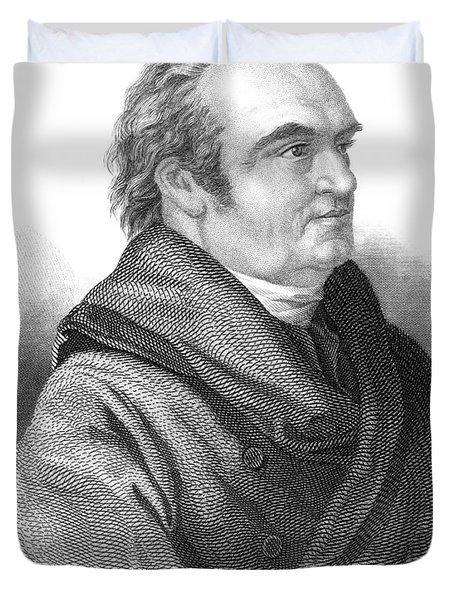 William Herschel, German-british Duvet Cover by Science Source