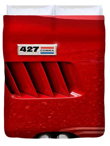427 Ford Cobra Duvet Cover by Gordon Dean II