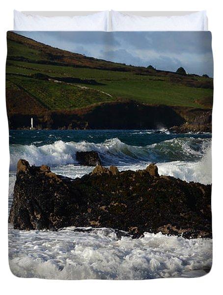 Beenbane Beach Duvet Cover by Barbara Walsh