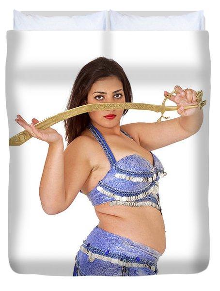 Belly Dancer Duvet Cover by Ilan Rosen