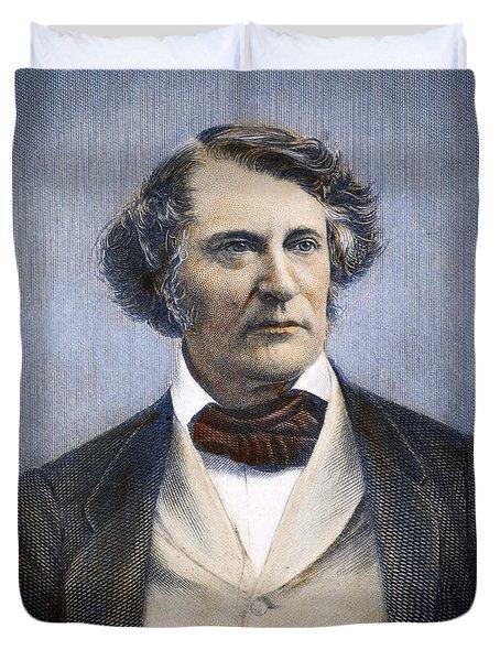 Charles Sumner (1811-1874) Duvet Cover by Granger