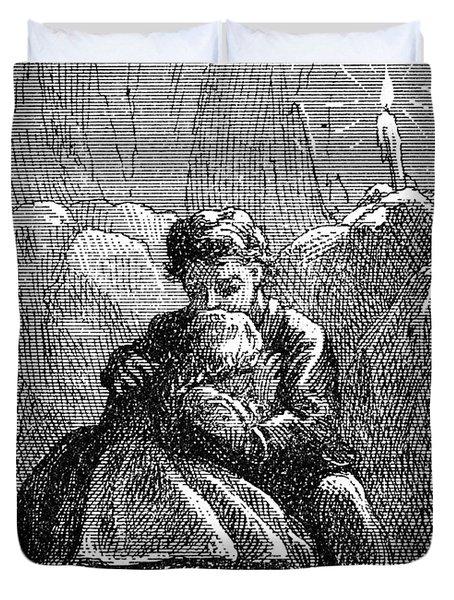 Clemens: Tom Sawyer Duvet Cover by Granger