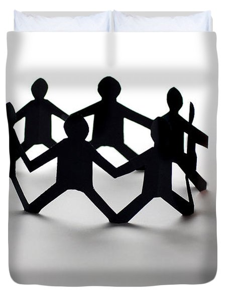 Conceptual Situation Duvet Cover by Photo Researchers, Inc.