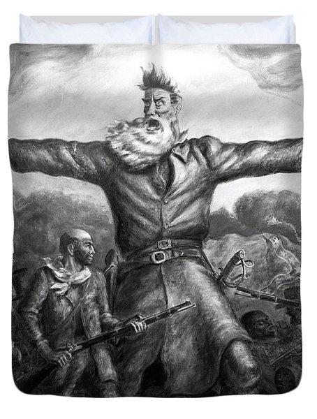 John Brown, American Abolitionist Duvet Cover