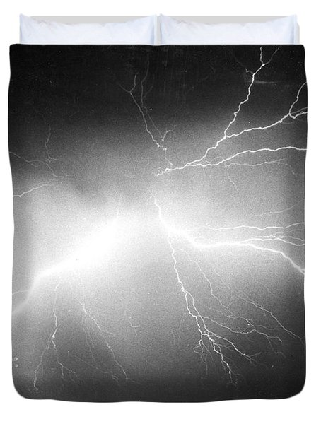Lightning Duvet Cover by Science Source