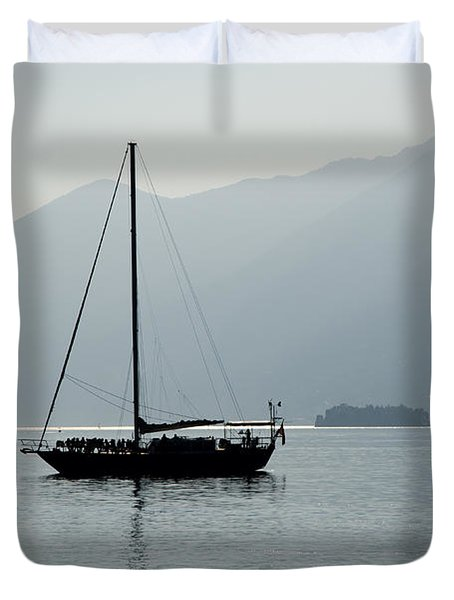Sailing Boat Duvet Cover by Mats Silvan