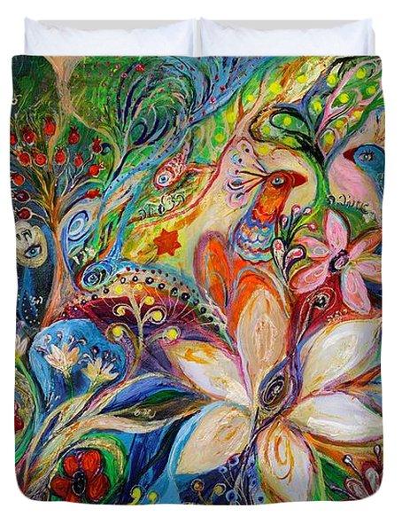 The Magic Garden Duvet Cover by Elena Kotliarker