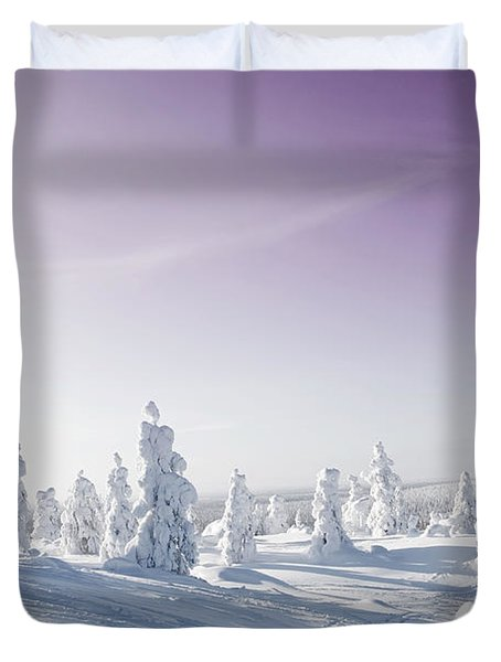 Winter Duvet Cover by Kati Molin