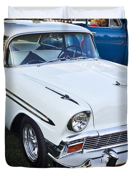 '56 Chevy 1 Duvet Cover