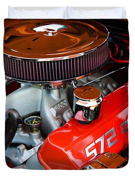 572 Chevy Duvet Cover