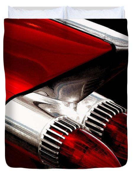 '59 Caddy Tailfin Duvet Cover