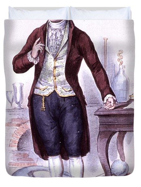 Antoine-laurent Lavoisier, French Duvet Cover by Science Source