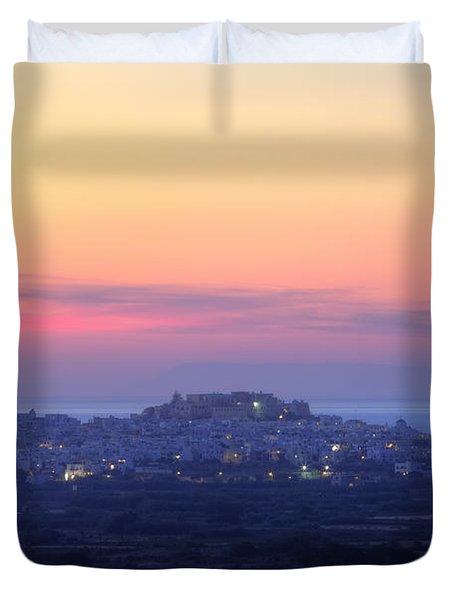 Naxos - Cyclades - Greece Duvet Cover
