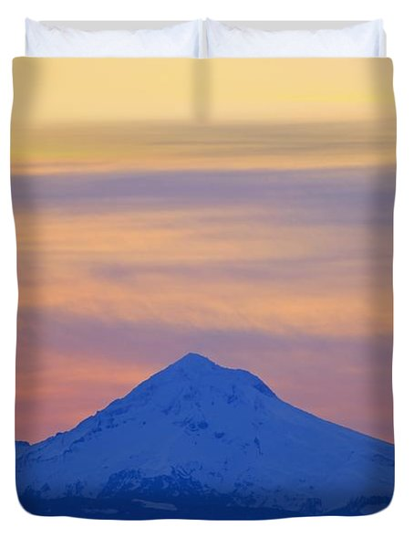 Oregon, United States Of America Duvet Cover by Craig Tuttle