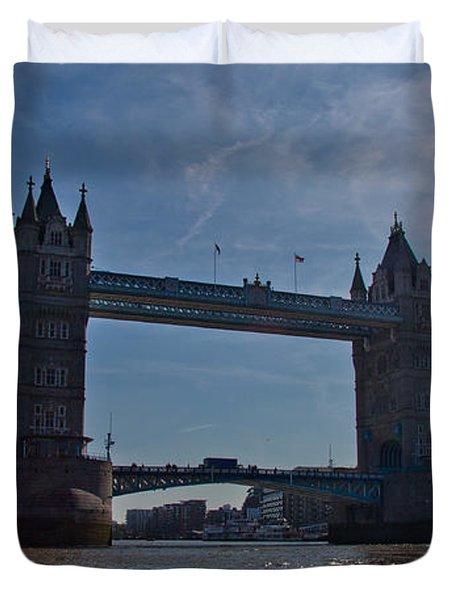 Tower Bridge Duvet Cover by Dawn OConnor