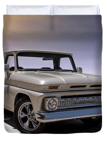 '66 Chevy Pickup Duvet Cover