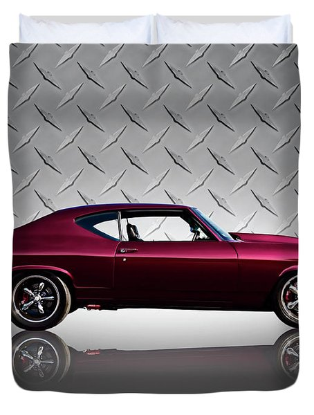 '69 Chevelle Duvet Cover
