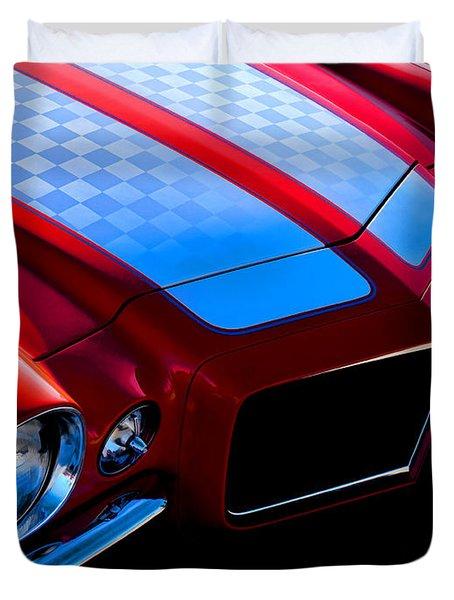 '71 Camaro Duvet Cover by Douglas Pittman
