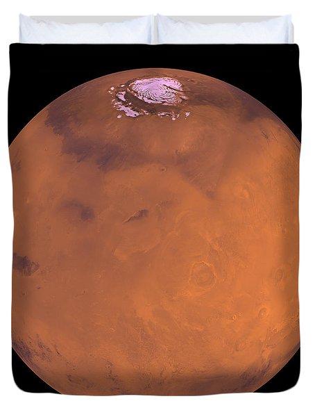 Mars Duvet Cover by Stocktrek Images