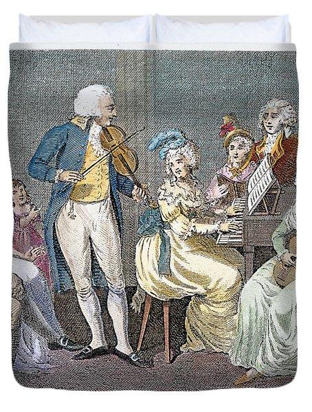 George IIi (1738-1820) Duvet Cover by Granger