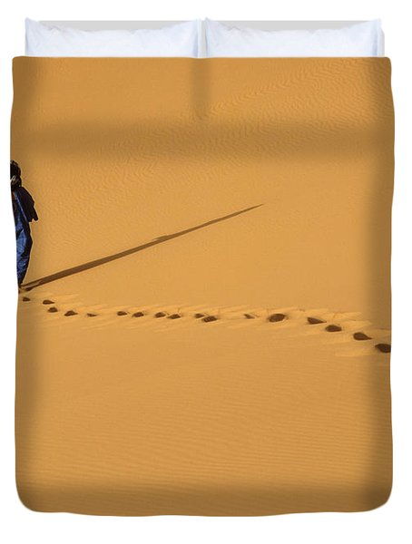 Merzouga, Morocco Duvet Cover by Axiom Photographic