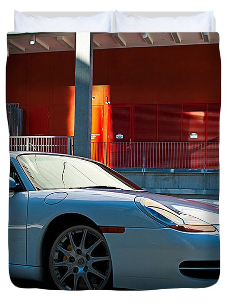 911 Porsche 996 2 Duvet Cover by Stuart Row